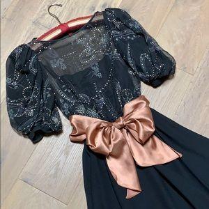 Vintage 80's cocktail/prom dress
